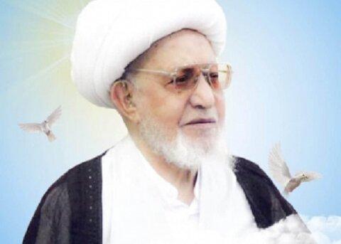 آیت الله محمد باقر ناصری از علمای عراق