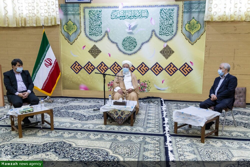 دیدار رئیس بنیاد شهید کشور با امام جمعه یزد به روایت تصویر