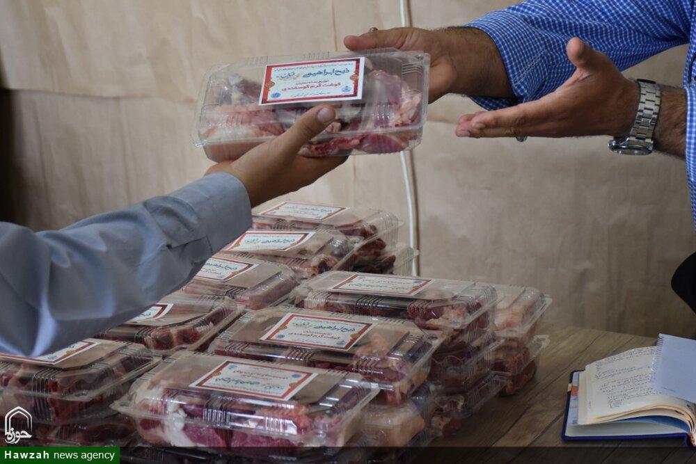 توزیع گوشت گرم گوسفندی
