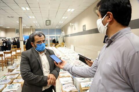 تصاویر/مراسم  آغاز توزیع مرحله ششم  توزیع ۲۵۰۰ بسته معیشتی و لوازم التحریر جمعیت  خدمت رسانی فاطمی ها