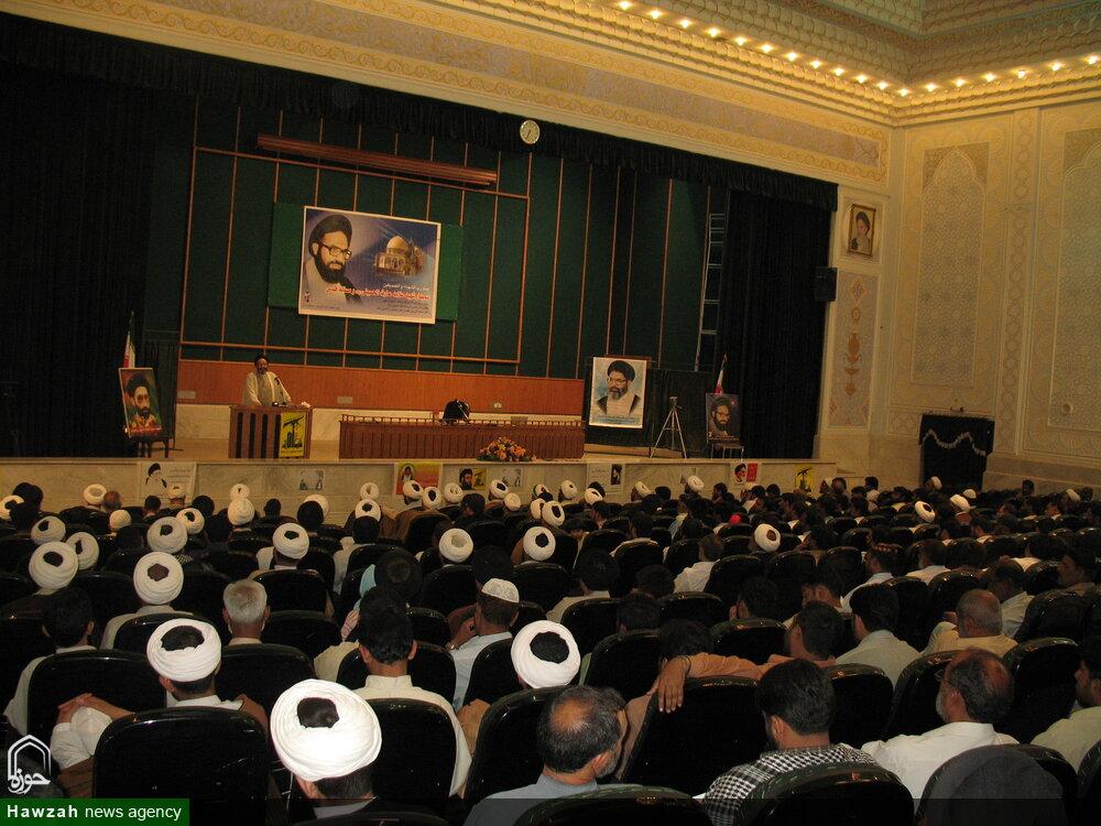 تصاویر آرشیوی از سمینار شهید عارف الحسینی توسط طلاب پاکستان در مرداد ماه ۱۳۸۵