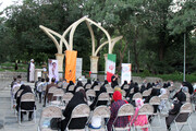 تصاویر/ ادای احترام خبرنگاران همدانی به مقام شامخ شهدا