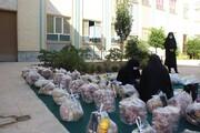 مشارکت بانوان طلبه مدرسه علمیه فاطمیه قزوین در طرح اطعام غدیر
