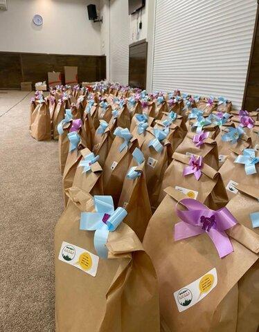 مسلمانان ویکتوریا با بستههای هدیه عید قربان را جشن گرفتند
