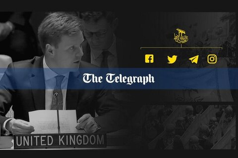 London took al-Nujab's message/ Telegraph's report on a media war