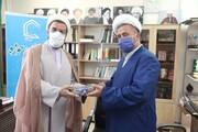 خدا قوترئیس شورای هماهنگی تبلیغات اسلامی قزوین به دست اندرکاران خبرگزاری حوزه