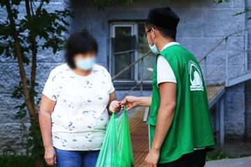 توزیع گوشت قربانی میان بیش از ۸۰ هزار خانوار نیازمند قزاقستانی