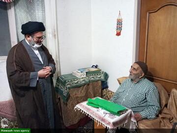 مدیرعامل خبرگزاری حوزه با خانواده شهید خبرنگار دیدار کرد + عکس