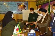 تصاویر/ تجلیل امام جمعه ماکو از مدافعان سلامت