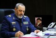 پیام فرمانده نیروی هوایی ارتش به مناسبت سالگرد شهادت شهید بابایی