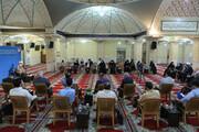 تصاویر/ نشست امام جمعه قزوین با خبرنگاران و مدیران رسانه
