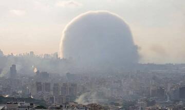 فیلم | انفجار بیروت از چند نمای مختلف
