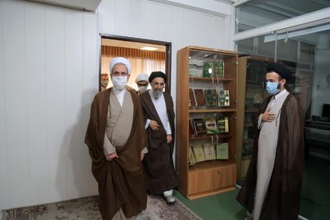 تصاویر / بازدید مدیر حوزه های علمیه از موسسه امام هادی (ع)