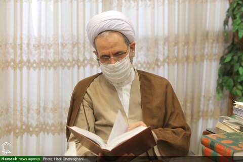 بالصور/ آية الله الأعرافي يتفقد من مؤسسة رسالة الإمام الهادي عليه السلام بقم المقدسة