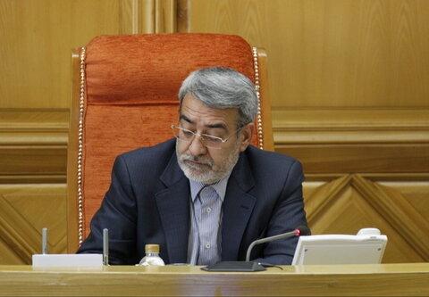 دکتر رحمانی فضلی وزیر کشور