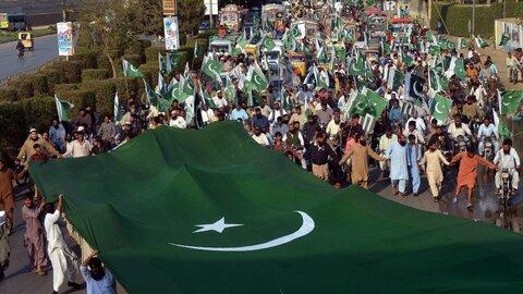 آج پاکستان بھر میں کشمیریوں سے اظہار یکجہتی کا دن منایا گیا