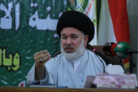 سید محمد حسین العمیدی مسئول ارشد دفتر حضرت آیت الله سیستانی
