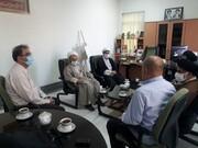 تبریک دبیر مجمع علمای دامغان به رئیس جدید اداره ارشاد