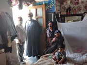 طلاب خواهر چایپاره عید ولایت را به روستائیان تبریک گفتند + عکس