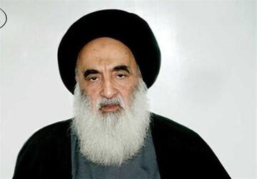 أحدث صورة لآية الله السيد علي السيستاني