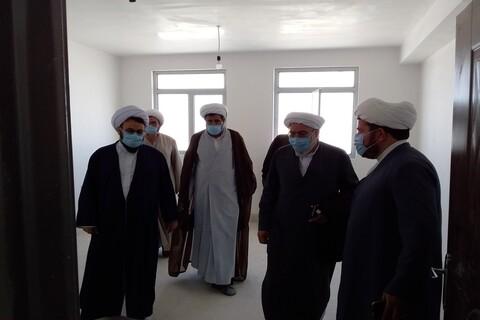 تصاویر/ بازدید مدیر حوزه علمیه آذربایجان غربی از مدارس جنوب استان