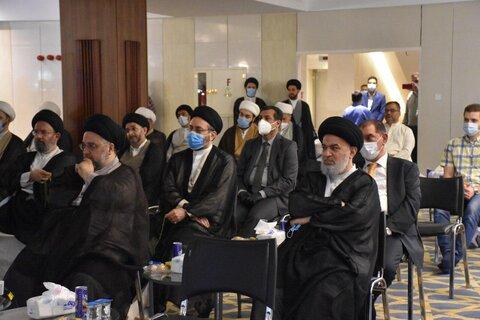 مستند زندگی آیتالله العظمی  خوئی در نجف رونمایی شد +تصاویر