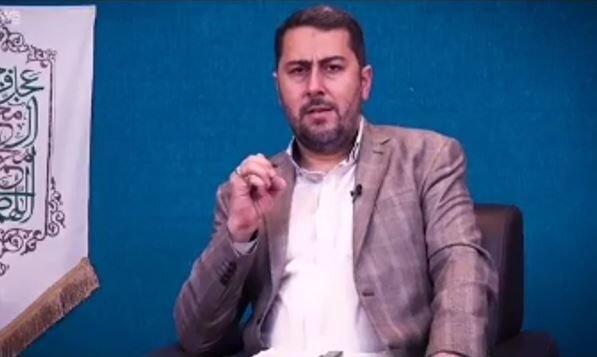فیلم | شعرخوانی احمد بابایی به مناسبت عید غدیر