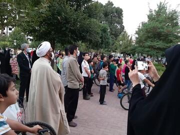 فعالیت فرهنگی بانوان طلبه قزوینی در آستانه عید غدیر + عکس