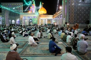 تصاویر/ مراسم جشن شب عید غدیر در مسجد اعظم