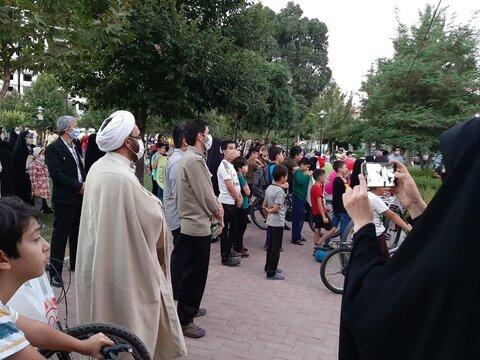 تصاویر/ کاروان شادی در پارک محلی شهرک کوثر قزوین