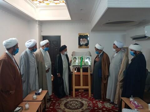 تصاویر/ دیدار اعضای مجمع طلاب و فضلای استان سمنان با مسئولان این استان
