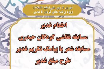 اجرای طرح های «مِهر علی» و «مهمان سفره علی» در یزد