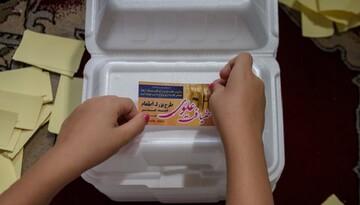 توزیع بیش از ۶۰ هزار پرس غذا اطعام علوی در دارالعباده