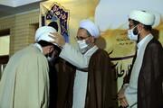 تصاویر/ عمامه گذاری طلاب مدرسه علمیه آیت الله العظمی بهجت(ره) قم توسط آیت الله اعرافی