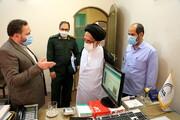 بازدید مسئول نمایندگی ولی فقیه در سپاه قم از خبرگزاری حوزه و تجلیل از خبرنگاران