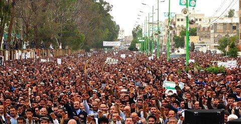 برگزاری مراسم باشکوه عید بزرگ غدیر با حضور گسترده مردم یمن