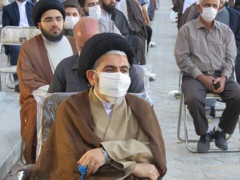 تصاویر / مراسم عمامه گذاری طلاب حوزه علمیه بناب