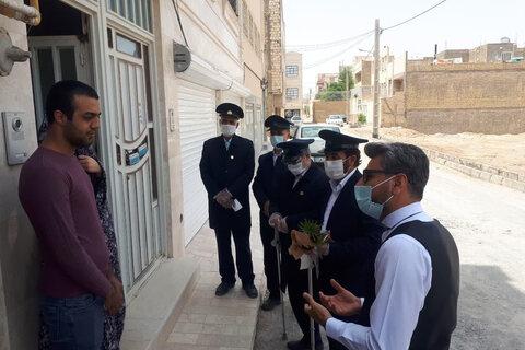 تصاویر/تجلیل از خادمان سلامت سادات یزدی