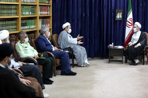 دیدار نماینده ولی فقیه و استاندار سیستان و بلوچستان با آیت الله اعرافی