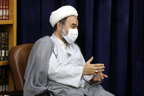 تصاویر/ دیدار استاندار سیستان و نماینده ولی فقیه با آیت الله اعرافی