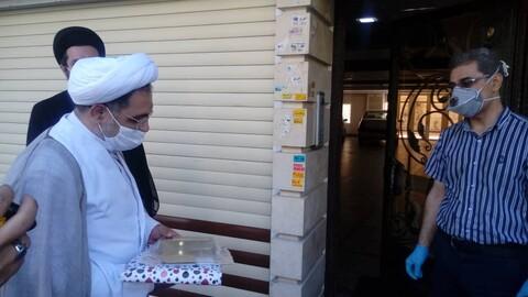تكريم المدافعين عن الصحة بمدينة تبريز