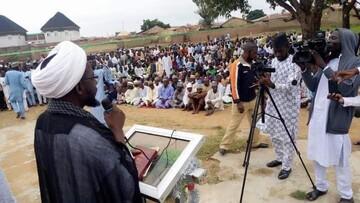 برگزاری گردهمایی بزرگ غدیر در شهر زاریا نیجریه+تصاویر