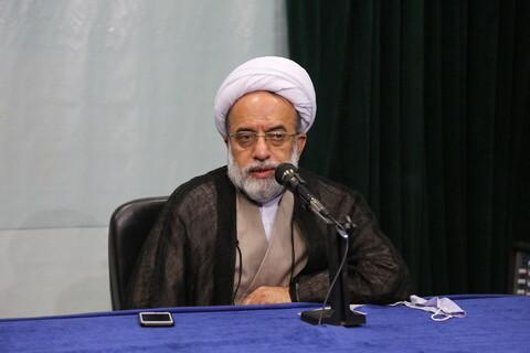 تصاویر/ مراسم رونمایی از زبان اردوی خبرگزاری رسمی حوزه