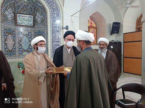 تودیع و معارفه مدرسه علمیه محمودیه شیراز