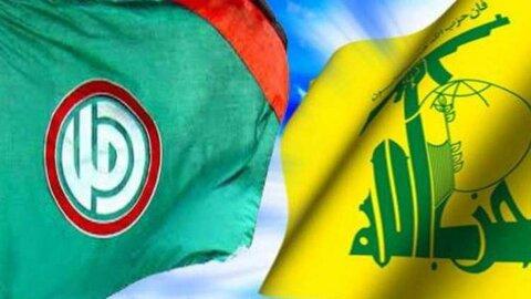 حزب الله و جنبش امل لبنان