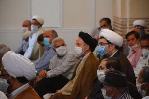 تصاویر / مراسم تکریم و معارفه امام جمعه شبستر