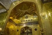 بالصّور/ مشاهد من إیوان الذهب الکبیر وبوّابة القبلة لمرقد أبي الفضل العبّاس(علیه السلام)