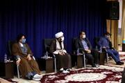 بالصور/ مراسیم تکریم مراسلی ومسؤولی المرکز الإعلامی للحوزة العلمیة بقم المقدسة