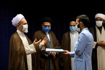 خبرنگاران رسانه حوزه تجلیل شدند