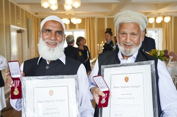The heroes of Al-Noor Mosque were honored with a medal